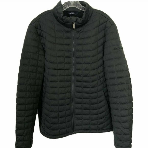 Ben Sherman Other - BEN SHERMAN - Black Quilted Signature Coat Size L